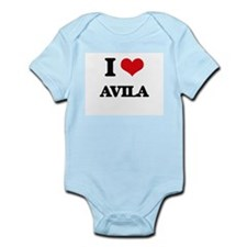 I Love Avila Body Suit