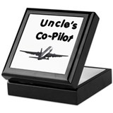 Uncle's copilot Keepsake Box