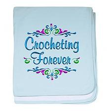 Crocheting Forever baby blanket