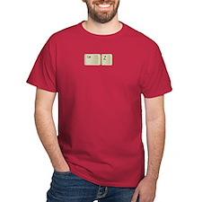 Ctrl Z keyboard keys T-Shirt
