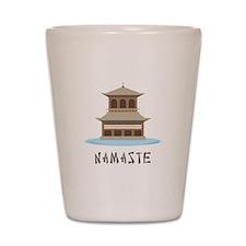 Namaste Shot Glass