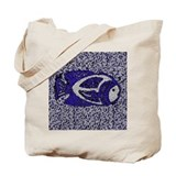 Fish Mural tile fish border Tote Bag