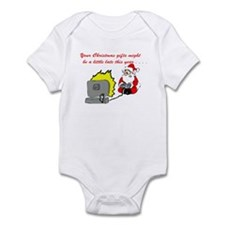 Santa's Video Games Infant Bodysuit