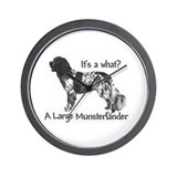 Munsterlander Wall Clock