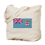 Fiji Fijian Blank Flag Tote Bag