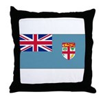 Fiji Fijian Blank Flag Throw Pillow