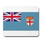 Fiji Fijian Blank Flag Mousepad
