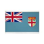 Fiji Fijian Blank Flag Rectangle Magnet (10 pack)