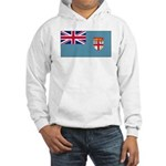 Fiji Fijian Blank Flag Hooded Sweatshirt