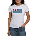 Fiji Fijian Blank Flag Women's T-Shirt