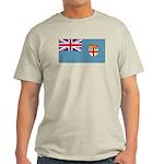 Fiji Fijian Blank Flag Light T-Shirt