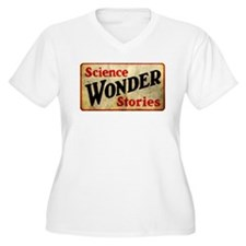 Science Wonder Stories Plus Size T-Shirt