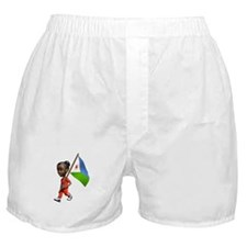 Djibouti Girl Boxer Shorts