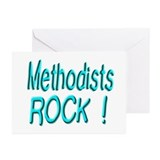 Methodists Rock ! Greeting Cards (Pk of 10)