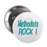 "Methodists Rock ! 2.25"" Button (10 pack)"