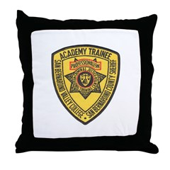 San Bernardino Academy Throw Pillow