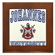JOHANNES University Framed Tile