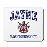 JAYNE University Mousepad