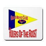 Old Mens Club Mousepad