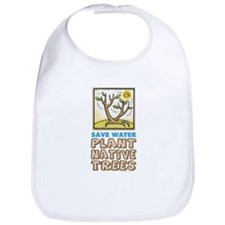 Plant Native Trees Bib