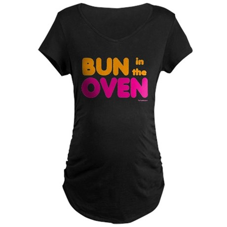 Bun in the Oven Maternity Dark T-Shirt