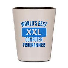 Worlds Best Computer Programmer Shot Glass