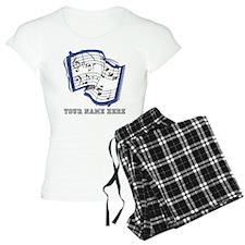 Custom Sheet Music Pajamas