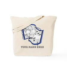 Custom Sheet Music Tote Bag