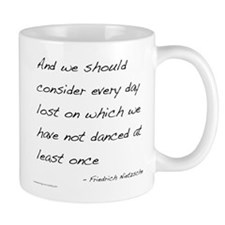 Nietzsche on Dance Small Mug