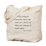 Nietzsche on Dance Tote Bag