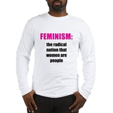 Feminism Long Sleeve T-Shirt