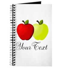 Personalizable Apples Journal