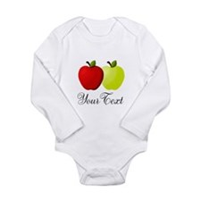 Personalizable Apples Body Suit