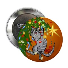 Tabby Terrific Button