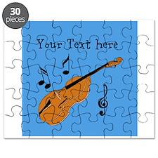 Customizable Violin Design Puzzle