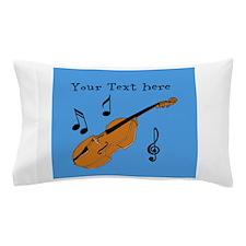 Customizable Violin Design Pillow Case