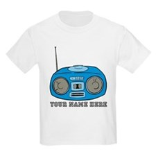 Custom Blue Radio T-Shirt