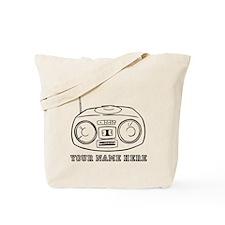 Custom Radio Tote Bag