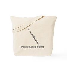 Custom Flute Tote Bag