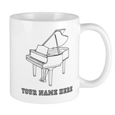 Custom Baby Grand Piano Mugs