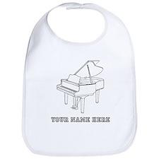 Custom Baby Grand Piano Bib