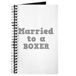 Married to a Boxer Journal