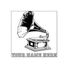 Custom Gramophone Sticker