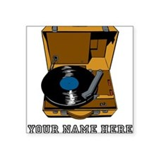 Custom Portable Record Player Sticker