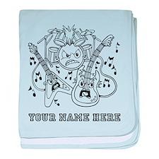 Custom Musical Instruments baby blanket