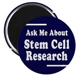 Stem Cell Research: Ask! Magnet (10 pack)