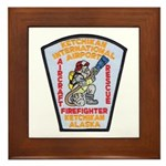 Ketchikan Airport Fire Framed Tile