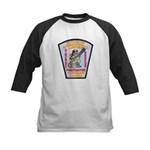 Ketchikan Airport Fire Kids Baseball Jersey