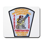 Ketchikan Airport Fire Mousepad