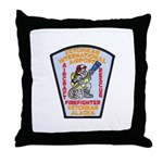 Ketchikan Airport Fire Throw Pillow